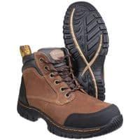 Dr Martens Riverton Brown SB Hiker Safety Footwear Brown